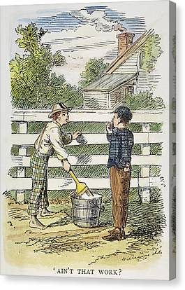 Clemens Tom Sawyer, 1876 Canvas Print by Granger