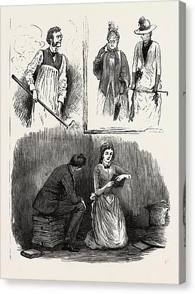Clement Hale Mr. Bernard Gould Sweet Lavender Miss Norreys Canvas Print