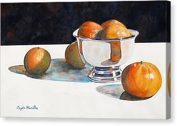 Clementines Canvas Print