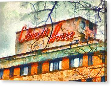 Clemson House Canvas Print