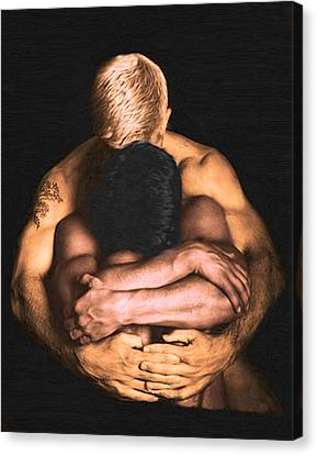 Clenched  Canvas Print by Troy Caperton