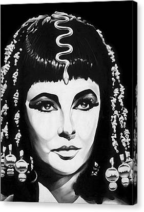 Cleopatra Canvas Print by Jeff Stroman