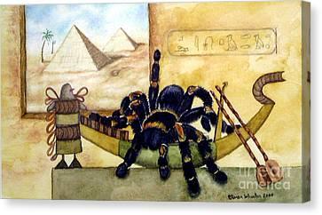 Cleopatra Canvas Print by Karen Wheeler
