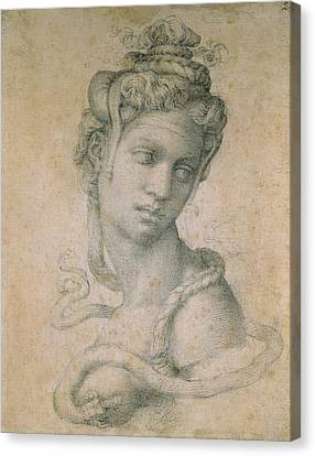 Cleopatra Canvas Print by Michelangelo