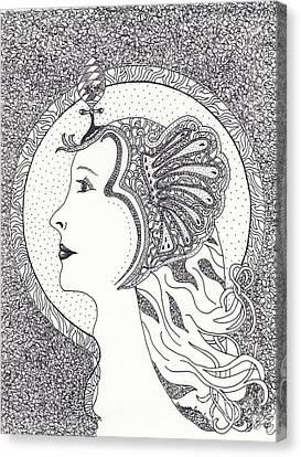 Cleopatra  Canvas Print by Tamyra Crossley