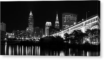 Cleveland Skyline Canvas Print by Dale Kincaid