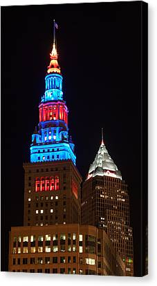 Cleveland Towers Canvas Print