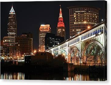 Cleveland Up Close Canvas Print