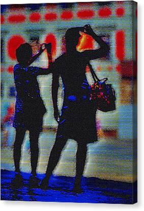 Click Click Canvas Print by Mark Brooks