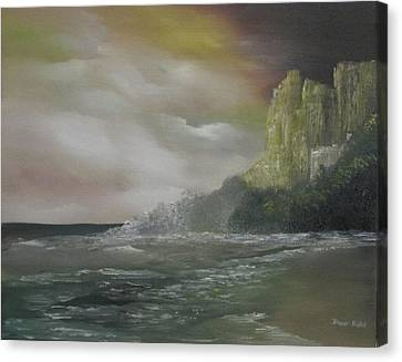 Cliff Bay Canvas Print