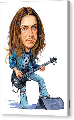 Cliff Burton Canvas Print by Art