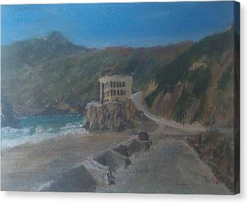 Hill District Canvas Print - Cliff House by Niko Sanchez