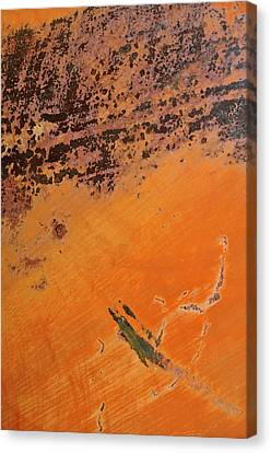 Cliffs Of Mars Canvas Print by Fran Riley