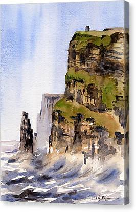 Clare   The Cliffs Of Moher   Canvas Print