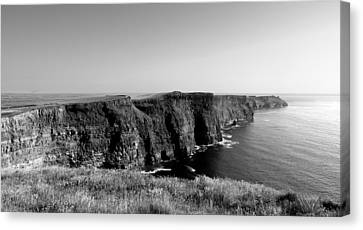 Cliffs Of Moher Canvas Print by Alan Hogan