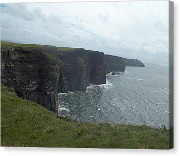Cliffs Of Moher II Canvas Print by James Potts