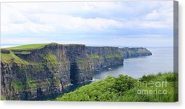 Cliffs Of Moher Panorama 3 Canvas Print