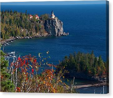 Cliffside Scenic Vista Canvas Print