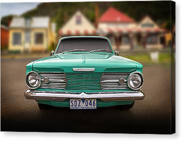 Cliff's Valiant Canvas Print by Keith Hawley