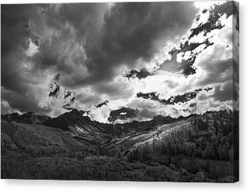 Climb The Clouds Canvas Print by Jon Glaser