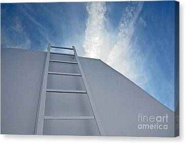 Canvas Print featuring the photograph Climb Up by Lena Wilhite