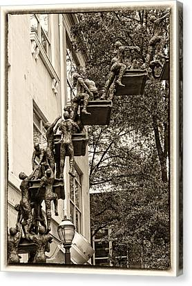 Climb With Care And Confidence Canvas Print