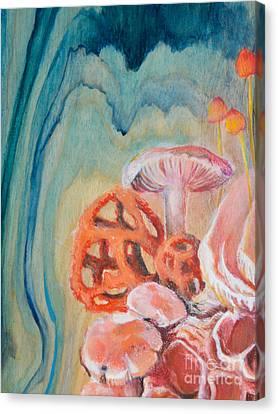 Climbing Fungi Canvas Print