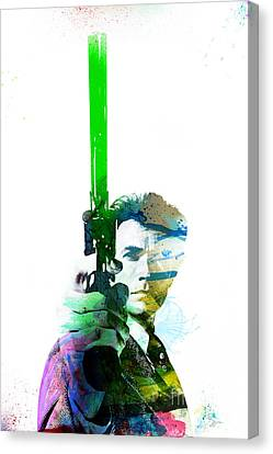 Clint Eastwood Dirty Harry Canvas Print