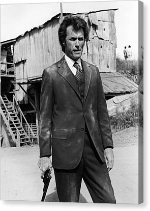 Clint Eastwood Is Dirty Harry Canvas Print