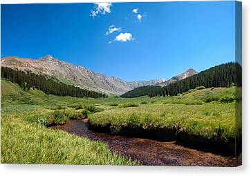 Canvas Print featuring the photograph Clinton Gorge  by Eric Rundle