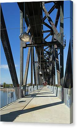 Clinton Presidential Park Bridge Canvas Print