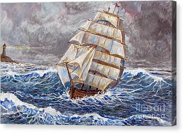Clipper Ship Canvas Print