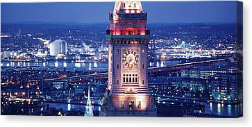 Clock Tower Of The Custom House Canvas Print by Panoramic Images