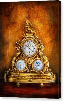 Clockmaker Canvas Print - Clockmaker - Anyone Have The Time by Mike Savad