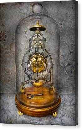 Clocksmith - The Time Capsule Canvas Print by Mike Savad