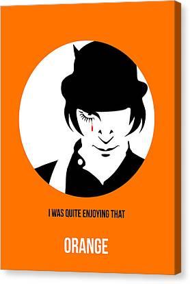 Kubrick Canvas Print - Clockwork Orange Poster 2 by Naxart Studio
