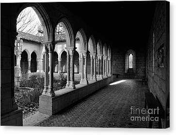 Cloisters 1 Canvas Print by Bob Stone