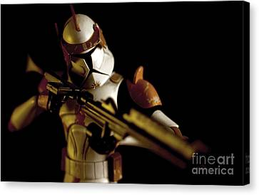 Clone Trooper 2 Canvas Print by Micah May