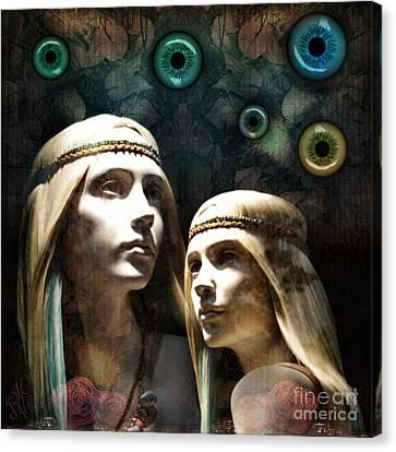 Cloned Dreams Canvas Print by Rosa Cobos