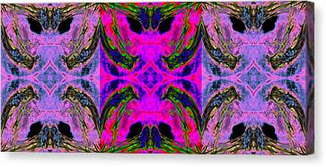 Order From Disorder Canvas Print - Cloned From Extinction 2013 by James Warren