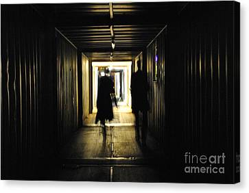 Canvas Print featuring the photograph Close Encounters Of The Third Kind by Maja Sokolowska