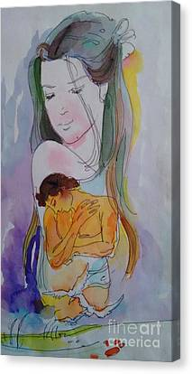 Close To Heart Canvas Print by Chintaman Rudra