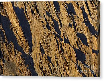 Close Up Of Cathedral Spires Mountains Passu Canvas Print by Robert Preston