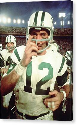 Joe Namath  Canvas Print by Retro Images Archive