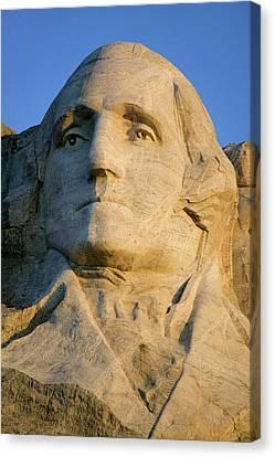 Close-up Of President George Washington Canvas Print