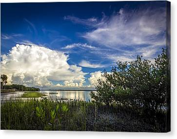 Close Your Eyes And See Canvas Print