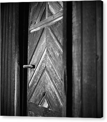 Closed Doors Canvas Print by Aaron Aldrich