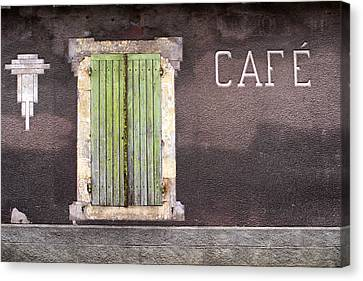 Closed For Business  Canvas Print by Georgia Fowler