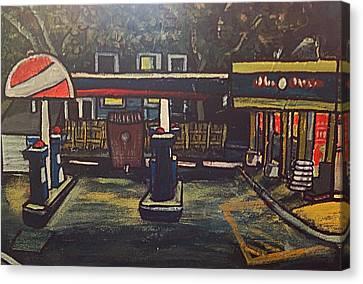 Closed Canvas Print by Richard  Hubal