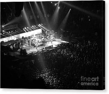 Pearl Jam Canvas Print - Closing The Spectrum by David Rucker